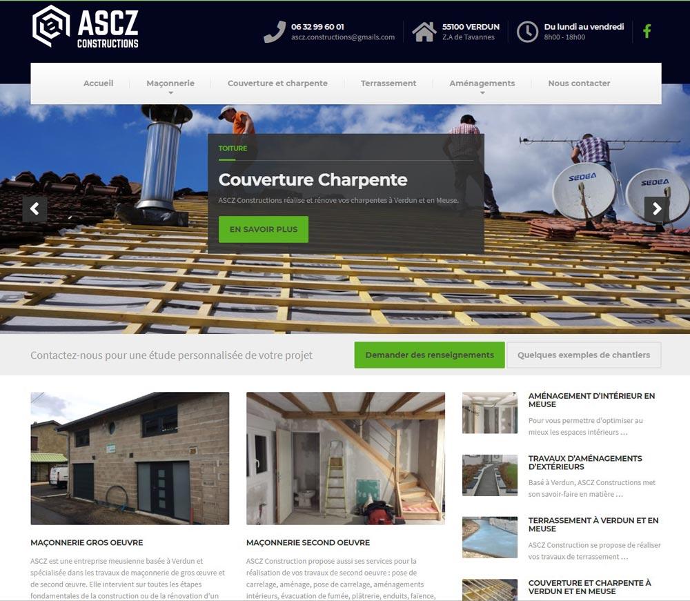 site internet ASCZ